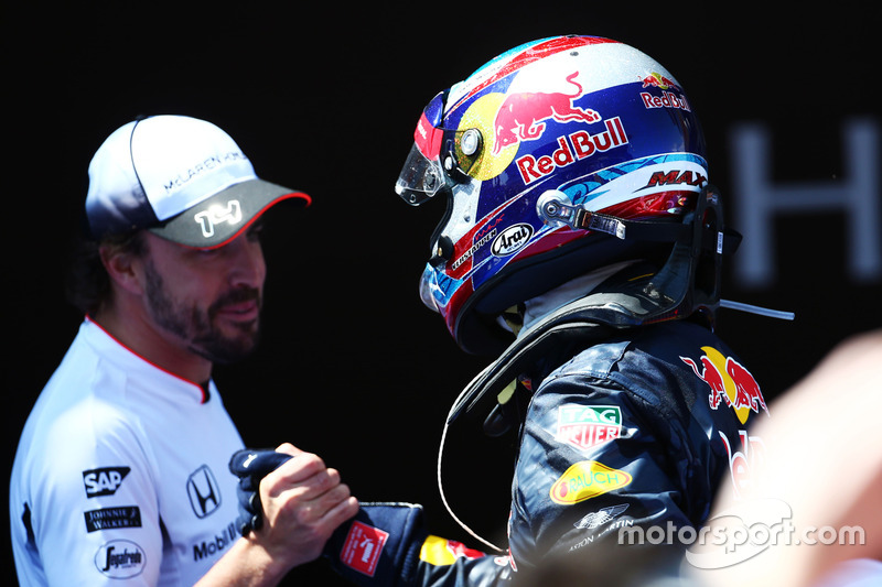 Shakehands mit Fernando Alonso