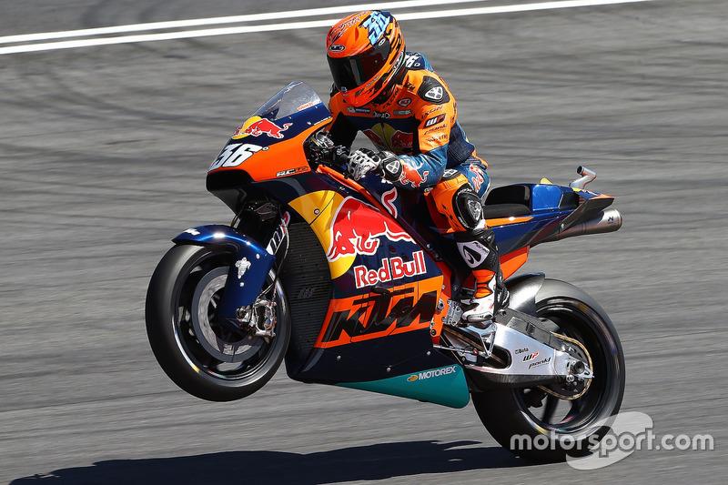 Demorunden: Mika Kallio, KTM MotoGP