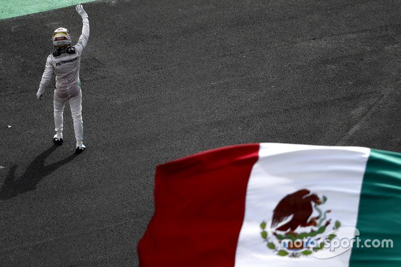 4. Ganador de la carrera Lewis Hamilton, Mercedes AMG F1
