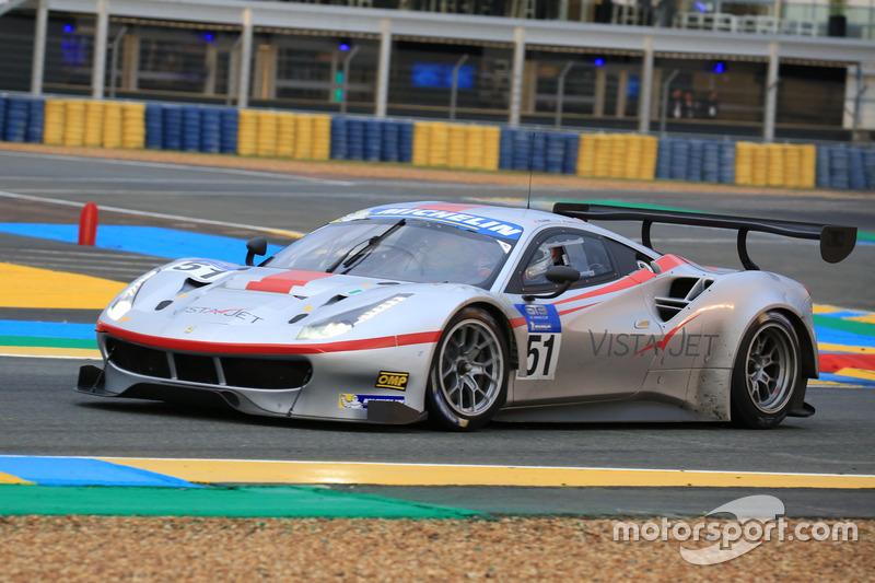 #51 AF Corse Ferrari 488: Thomas Flohr, Francesco Castellacci