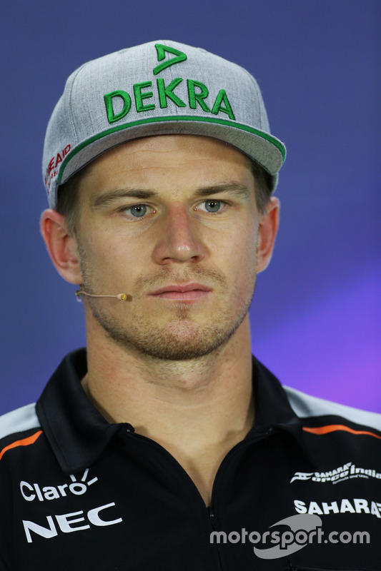 Ныко Хюлькенберг, Sahara Force India F1, прес-коференція
