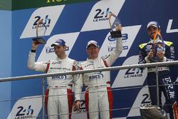 LMP3: second place Martin Brundle, Christian England, United Autosports