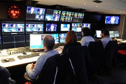 غرفة التحكم التلفزيوني