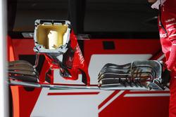 A Ferrari nose cone