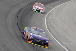 Denny Hamlin, Joe Gibbs Racing Toyota and Kyle Larson, Chip Ganassi Racing Chevrolet