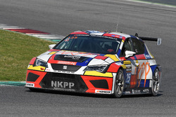 #125 NKPP Racing by Bas Koeten Racing, Seat Leon TCR V3: Gijs Bessem, Harry Hilders, Bas Koeten