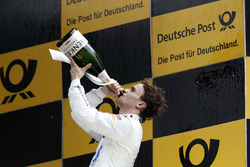 Podium: Race winner Lucas Auer, Mercedes-AMG Team HWA, Mercedes-AMG C63 DTM