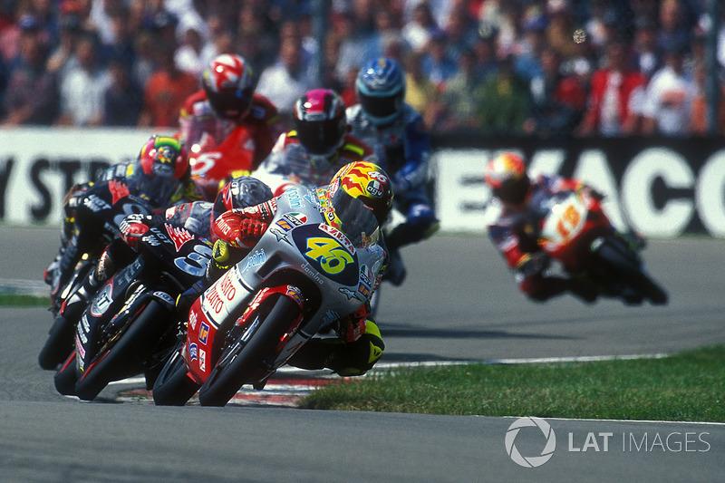 1ª: 1997 Valentino Rossi (Nastro Azzurro Aprilia - 125)