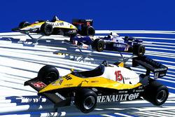Renault display at Goodwood