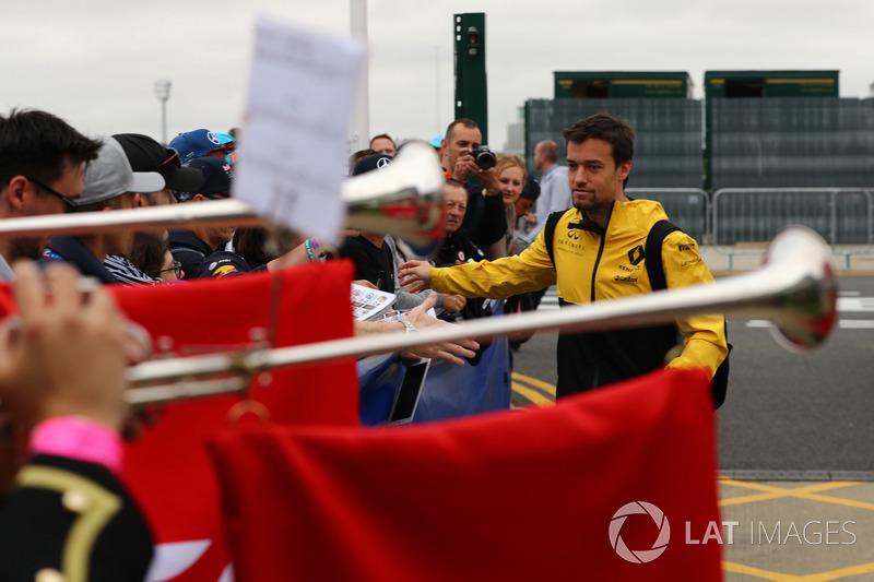 Jolyon Palmer, Renault Sport F1 Team y fans