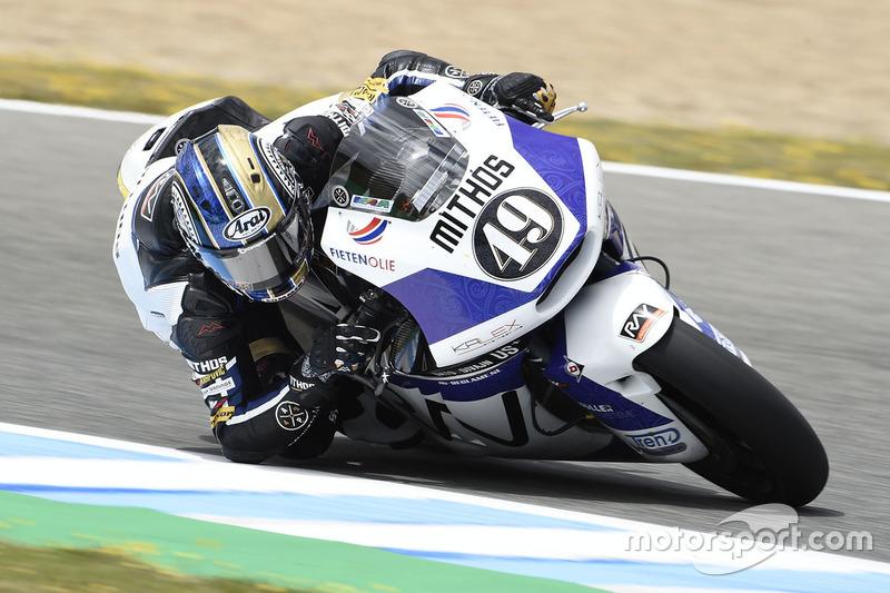 7. Axel Pons, RW Racing GP (Moto2): 20 quedas