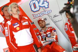 Gigi Dall'Igna, directeur général Ducati, Andrea Dovizioso, Ducati Team