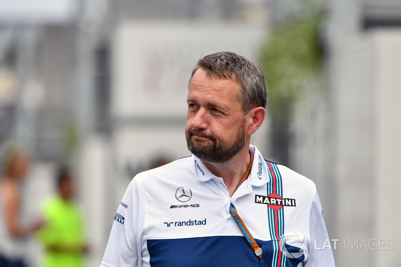 Steve Nielson, Williams F1 Sporting Manager