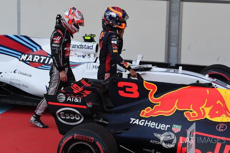 Kevin Magnussen, Haas F1 Team, Carlos Sainz Jr., Scuderia Toro Rosso