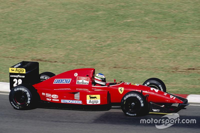 1992 : Ferrari F92A (два подиума)