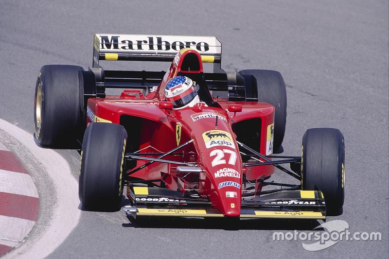 Jean Alesi: GP Kanada 1995 in Montreal