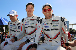Timo Bernhard, Earl Bamber, Brendon Hartley, Porsche Team