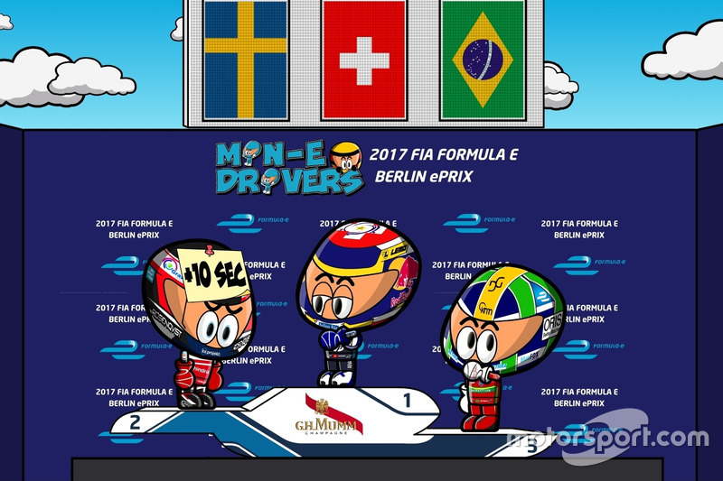 Segunda carrera del ePrix de Berlín  2016/2017 según 'Los MinEDrivers'