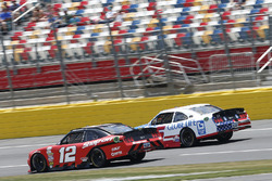Ryan Blaney, Team Penske Ford Brad Keselowski, Team Penske Ford Darrell Wallace Jr., Roush Fenway Racing Ford