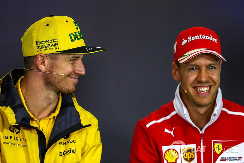 Ніко Хюлькенберг, Renault Sport F1 Team, Себастьян Феттель, Ferrari