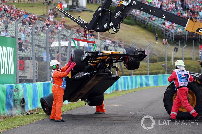 Renault Sport F1 Team RS17 Джоліона Палмера