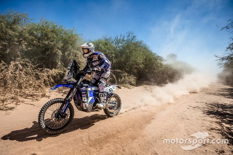 #43 Yamaha Official Rally Team: Rodney Faggotter