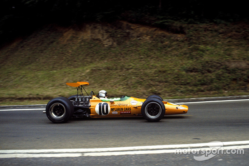 Брюс Макларен, McLaren M7A Ford