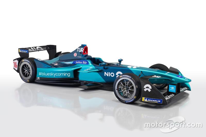 2017/18 NIO Formula E team aracı