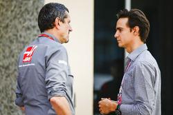 Guenther Steiner, Team Principal, Haas F1 Team, Esteban Gutierrez
