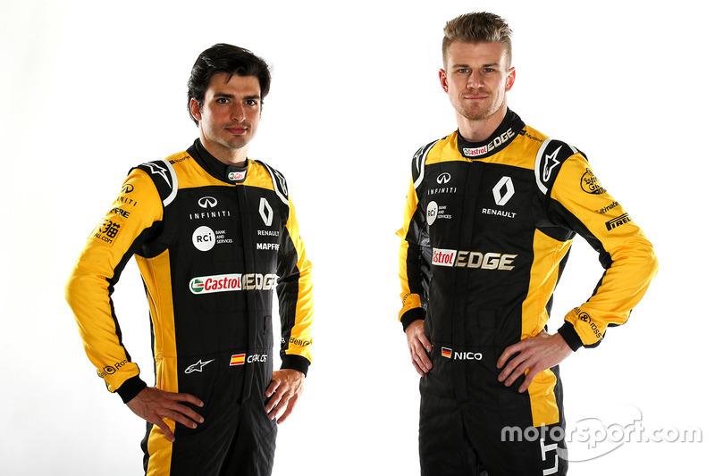 Год спустя Карлос ее нашел. Теперь он вместе с Нико Хюлькенбергом выступает в Renault, которая еще в середине прошлого года решила заменить испанцем Джолиона Палмера