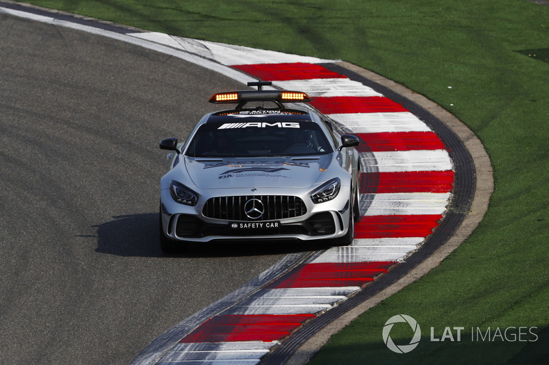 El AMG Mercedes safety-car