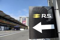 Renault Sport F1 Team pit lane marker board
