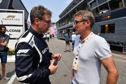 Bernd Maylander, pilota della FIA Safety Car e Bernd Schneider