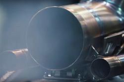 Mercedes W09 engine fire up