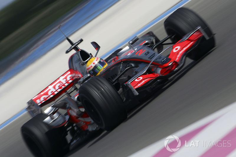 Lewis Hamilton, McLaren MP4-22 (2007)