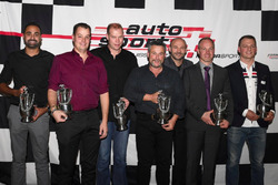I campioni svizzeri 2017 premiati alla cerimonia dell'Auto Sport Schweiz