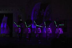 Il gruppo d'intrattenimento Drumming Entertainement Stickstoff