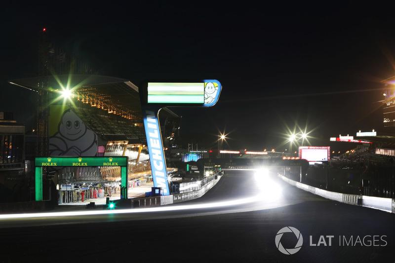 Las luces de Le Mans