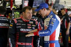 Ryan Newman, Richard Childress Racing Chevrolet, Joey Logano, Team Penske Ford