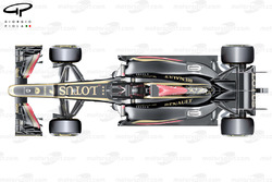 Lotus E21 top view, Hungarian GP