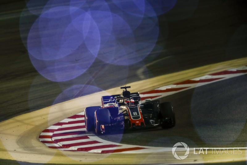16. Romain Grosjean, Haas F1 Team VF-18 Ferrari
