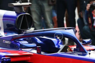 Presentación del Toro Rosso STR13