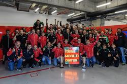 AF Corse celebración