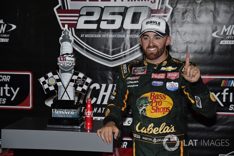Austin Dillon, Richard Childress Racing, Chevrolet Camaro Bass Pro Shops / Cabela's wins