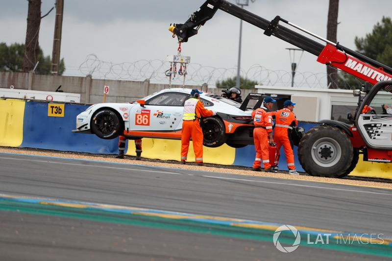 #86 Gulf Racing Porsche 911 RSR: Бенджамин Баркер, Алекс Дэвисон, Майкл Уэйнрайт
