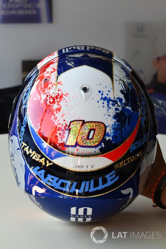 Шолом П'єра Гаслі, Scuderia Toro Rosso