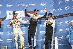 Podium: Worldchampion Thed Björk, Polestar Cyan Racing, Volvo S60 Polestar TC1