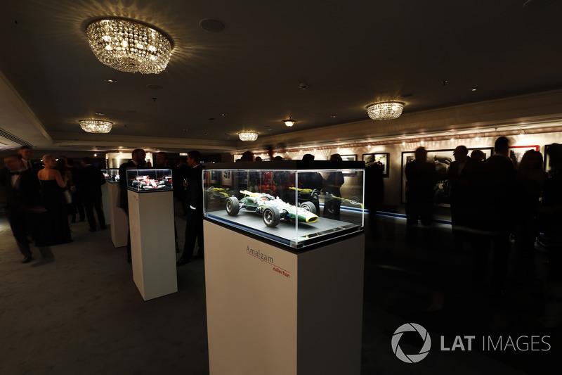 Amalgam models on display