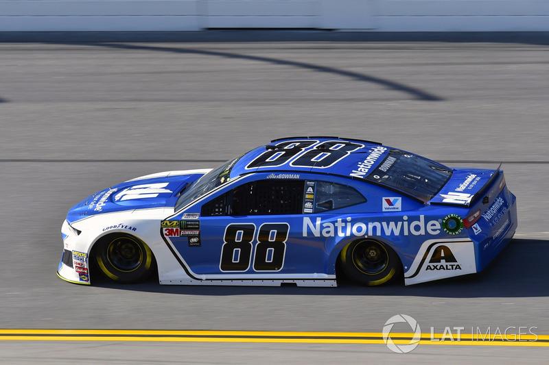 1. Alex Bowman, No. 88 Hendrick Motorsports Chevrolet Camaro
