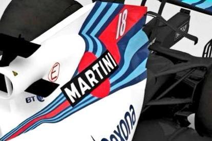El Williams FW41 T-wing